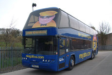 megabus is now running from Germany over France to Spain