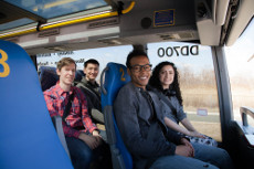 Powered by poo: Thanks to alternative fuel the Bio-Bus is highly eco-friendly