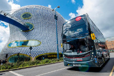 More comfort, less pollution: National Express adds new Platinum buses for the Black Country