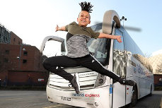 National Express supports dancing sensation Junior Frood