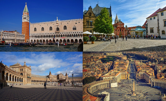 Europe's Most Beautiful Squares - Part 1