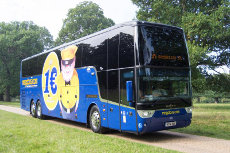 megabus network expansion: Travel to Heathrow and Gatwick Airport for £1!