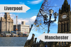 Best CheckMyBus Connection for January: Manchester to Liverpool