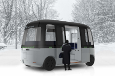 All-Weather Autonomous Shuttle Bus Faces Off Against Harsh Winter Conditions in Northern Finland