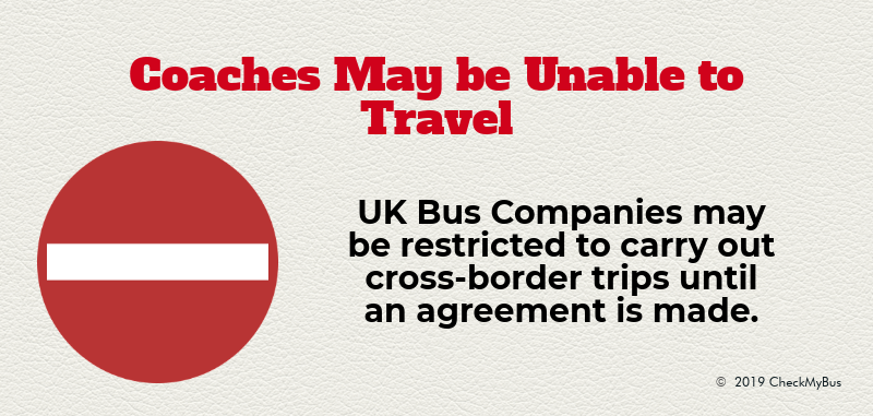 Coach Travel from the UK to Europe Could be Interrupted