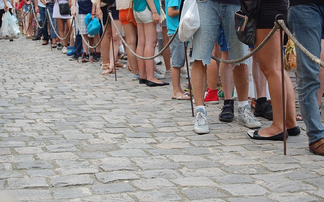 8. British People like to Queue